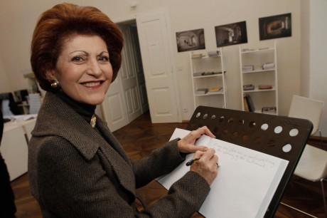 Androulla Vassiliou, evropska komisarka (foto Mediaspeed)