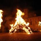 Ognjene skulpture - Glavni trg Maribor (foto MP Produkcija)